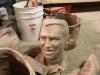 bronze casting of wax parts