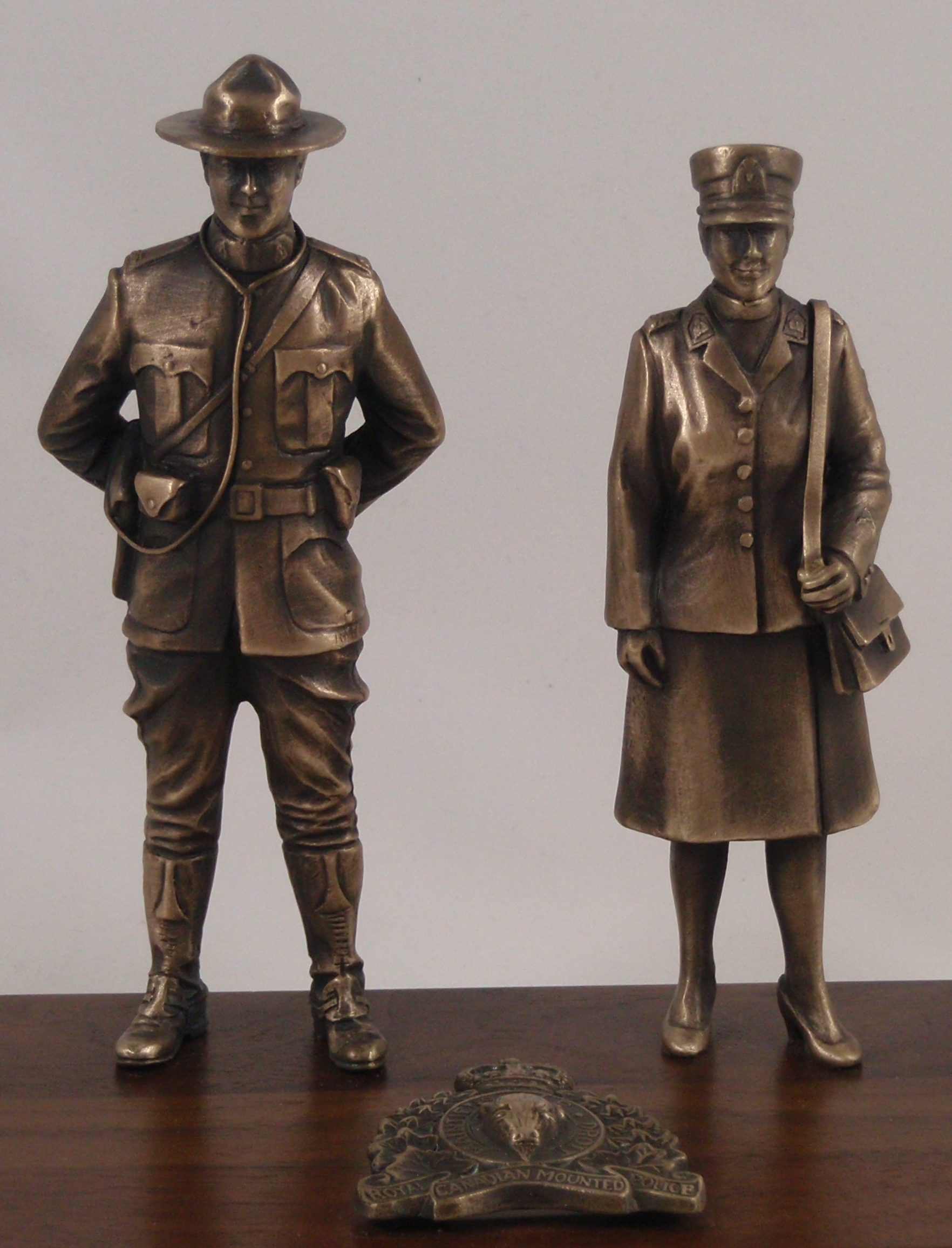Canadian RCMP (male and female, dress uniforms)